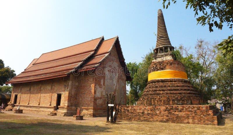 Ayuddhaya Thailand royalty-vrije stock afbeelding