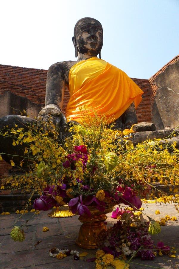 Ayuddhaya Thailand royalty-vrije stock foto
