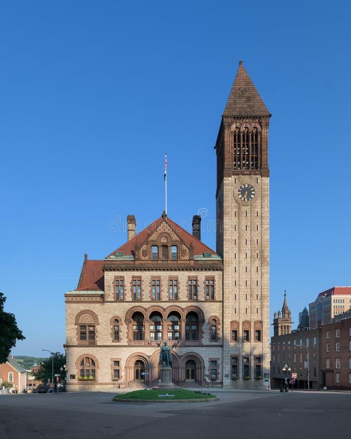 Ayuntamiento Albany imagen de archivo