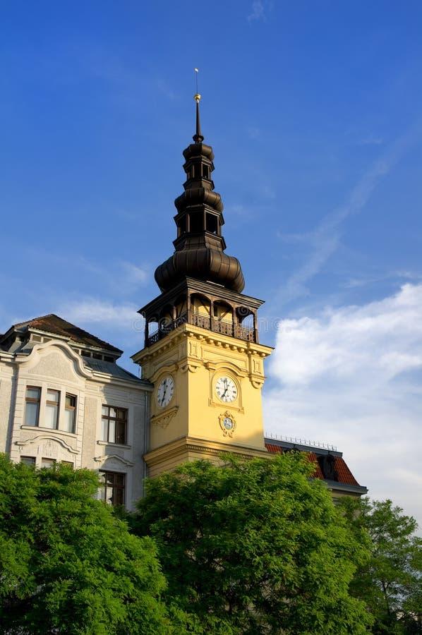Ayuntamiento anterior, Ostrava, República Checa imagenes de archivo