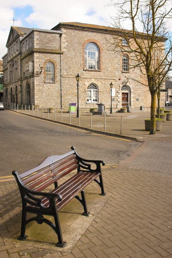 Ayuntamiento Athy Kildare irlanda imágenes de archivo libres de regalías