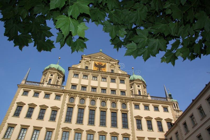 Ayuntamiento Augsburg imagenes de archivo