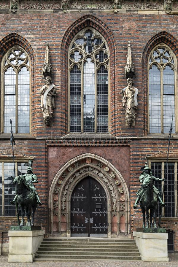 Ayuntamiento - Bremen - Alemania Bremen fotografía de archivo libre de regalías