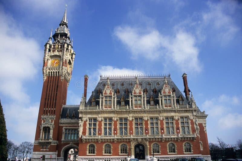 Ayuntamiento Calais fotografía de archivo libre de regalías