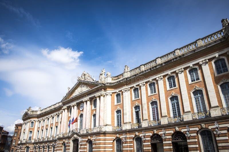 Ayuntamiento Capitole de Toulouse imágenes de archivo libres de regalías