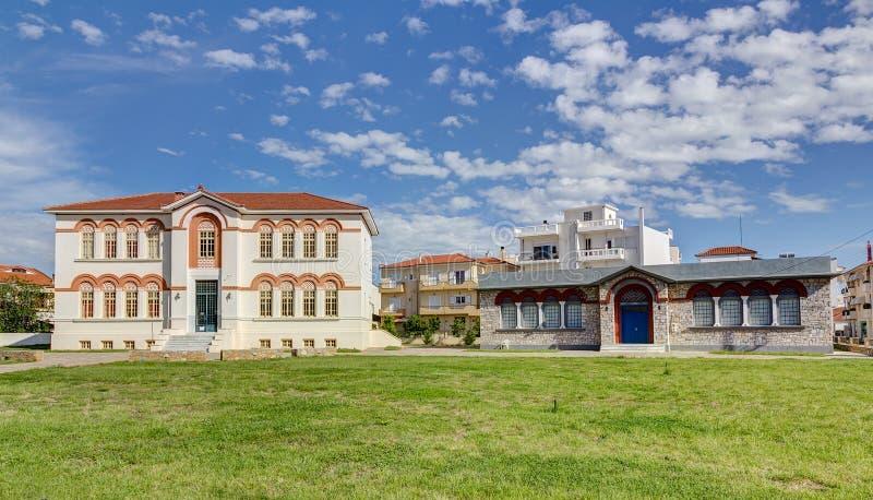 Ayuntamiento de Almyros, Thessaly, Grecia imágenes de archivo libres de regalías