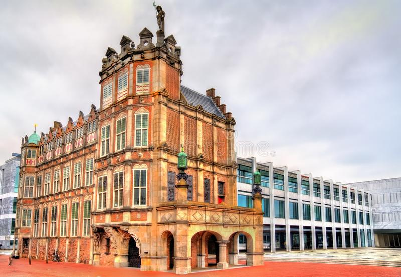 Ayuntamiento de Arnhem, Pa?ses Bajos imágenes de archivo libres de regalías