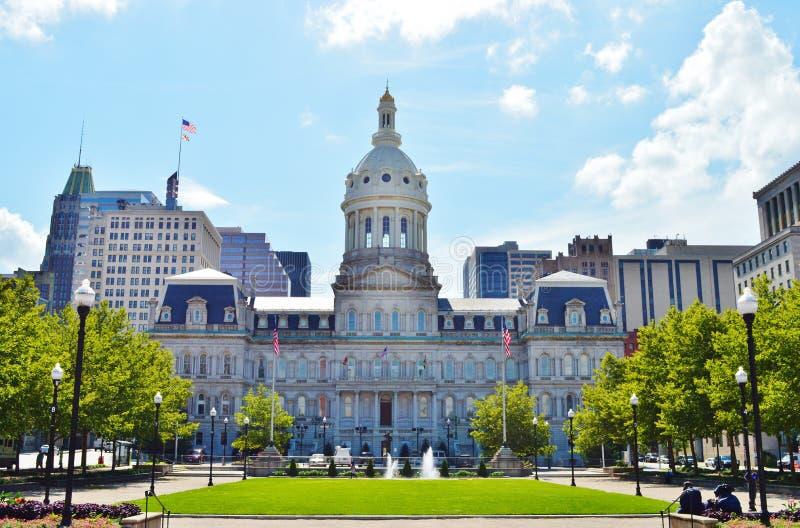 ayuntamiento de Baltimore foto de archivo