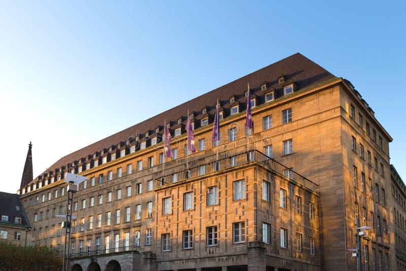Ayuntamiento de Bochum Alemania fotos de archivo libres de regalías