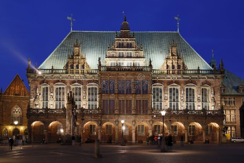 Ayuntamiento de Bremen imagenes de archivo