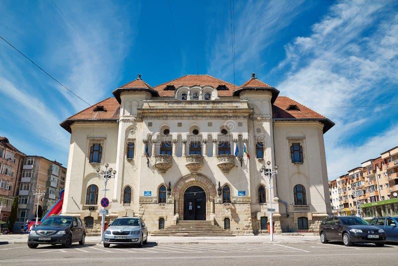 Ayuntamiento de Campulung imágenes de archivo libres de regalías