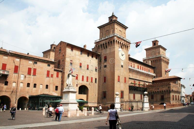 Ayuntamiento de Ferrara foto de archivo