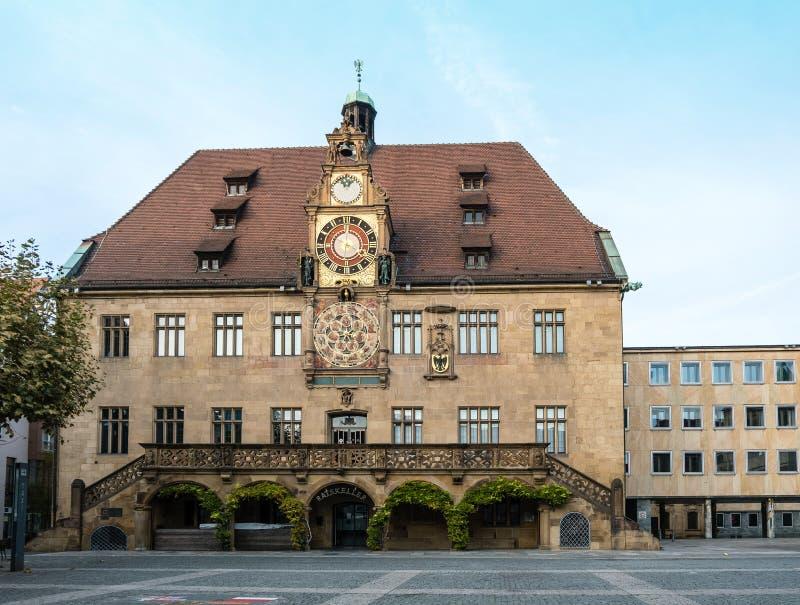 Ayuntamiento de Heilbronn Baden-württemberg Alemania foto de archivo