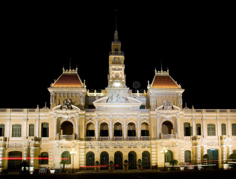Ayuntamiento de Ho Chi Minh City imagen de archivo libre de regalías