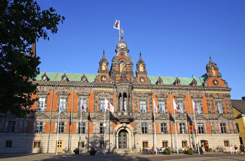 Ayuntamiento de la ciudad de Malmo! foto de archivo libre de regalías