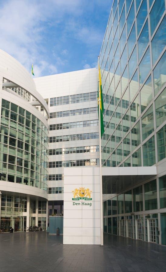 Ayuntamiento de La Haya fotografía de archivo libre de regalías