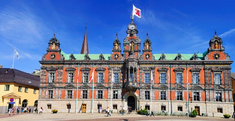 Ayuntamiento de Malmö, Suecia foto de archivo
