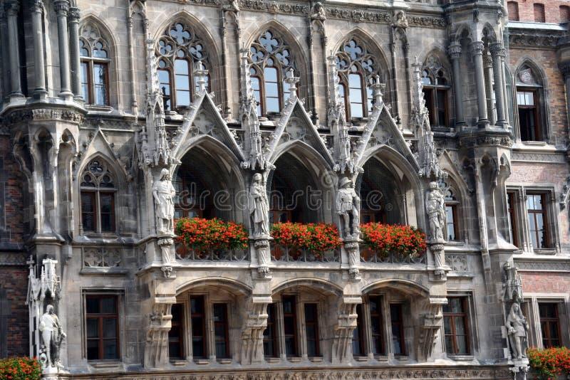 Ayuntamiento de Munich fotografía de archivo