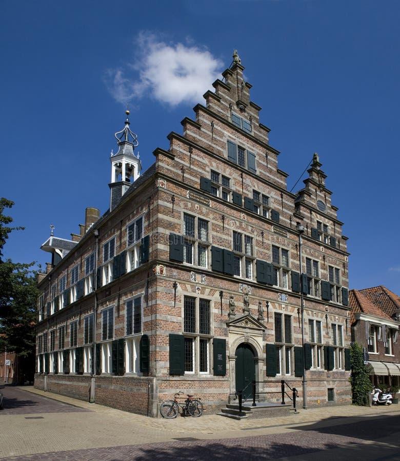 Ayuntamiento de Naarden fotografía de archivo