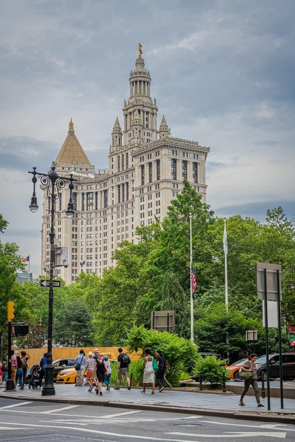 Ayuntamiento de Nueva York fotos de archivo