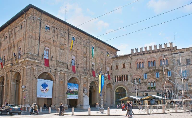 Ayuntamiento de Parma imágenes de archivo libres de regalías