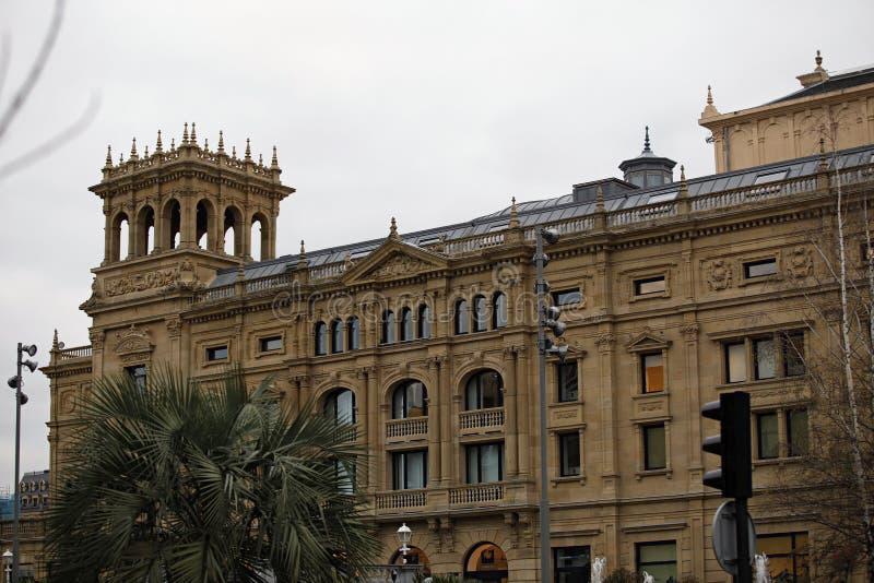 Ayuntamiento de San Sebastián fotografía de archivo libre de regalías