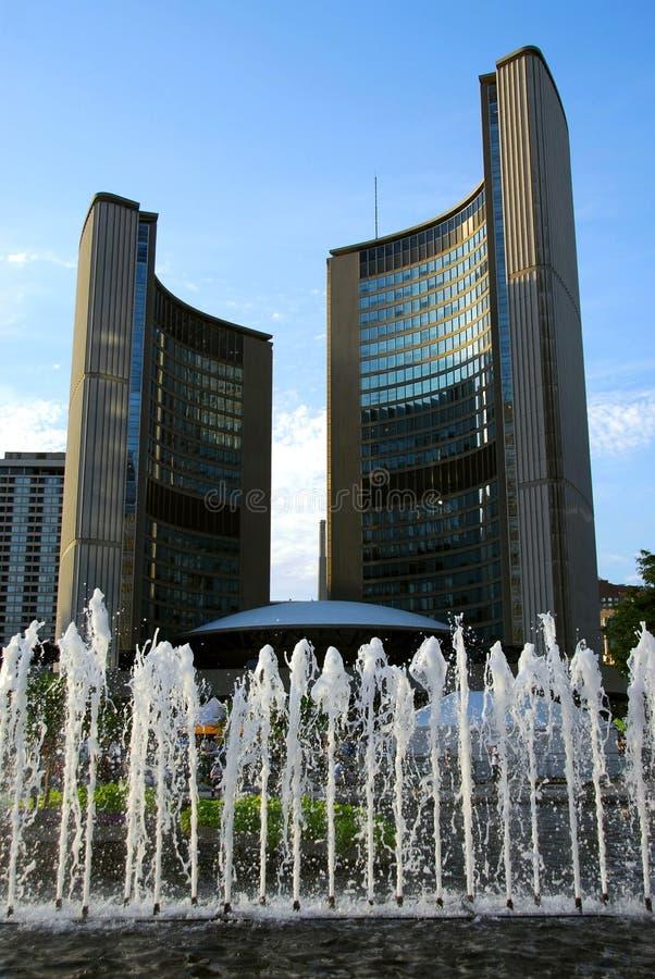 Ayuntamiento de Toronto fotos de archivo libres de regalías