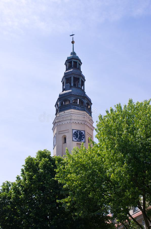 Ayuntamiento de Zielona Gora - Polonia foto de archivo libre de regalías