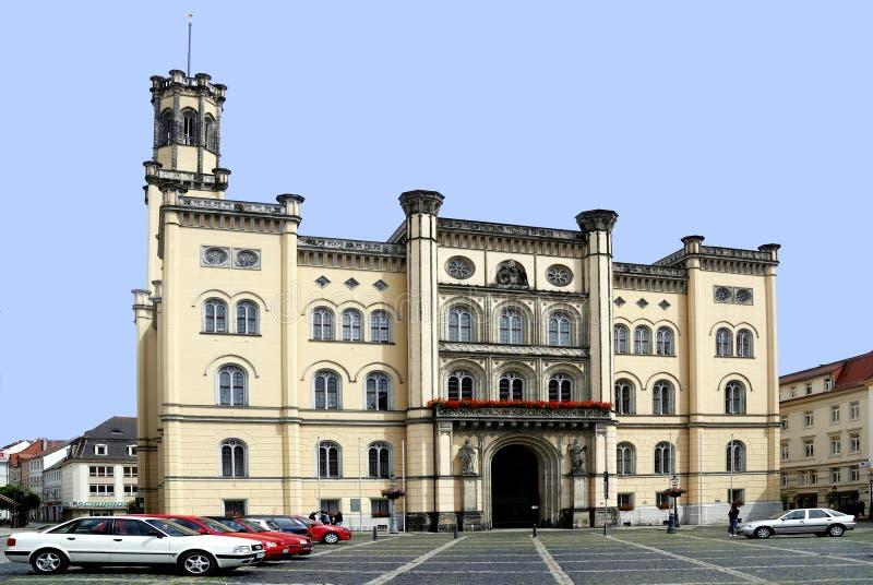 Ayuntamiento de Zittau en Alemania fotografía de archivo