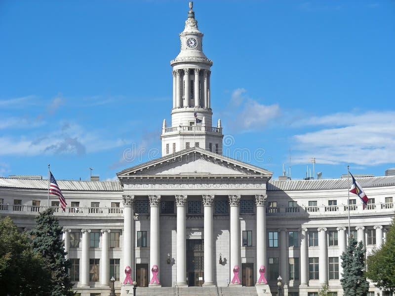 Ayuntamiento Denver imagen de archivo libre de regalías