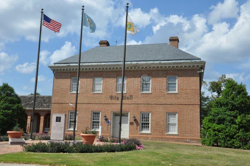 Ayuntamiento, Dover, Delaware foto de archivo libre de regalías