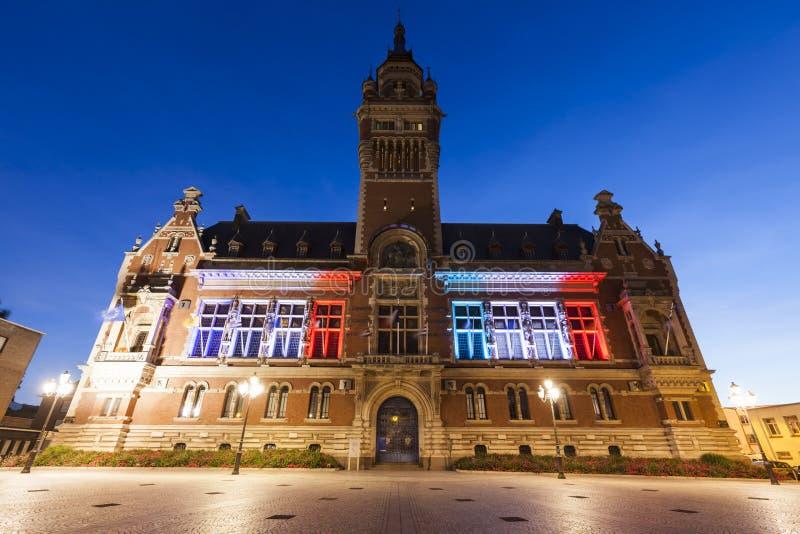 Ayuntamiento Dunkerque fotos de archivo libres de regalías