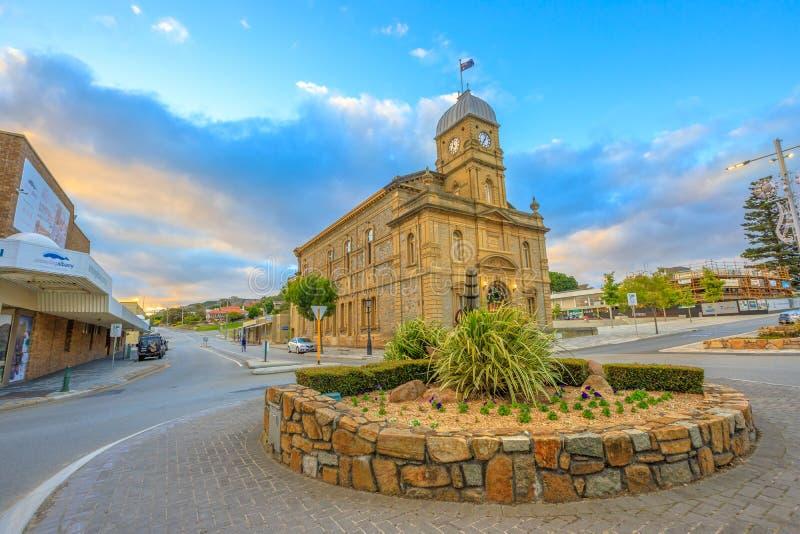 Ayuntamiento en Albany Australia imagen de archivo