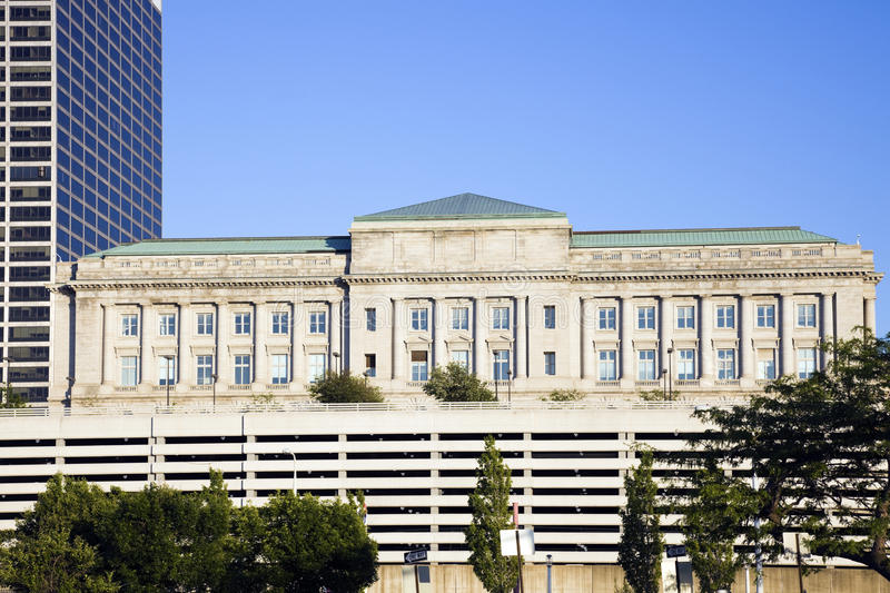 Ayuntamiento en Cleveland fotos de archivo