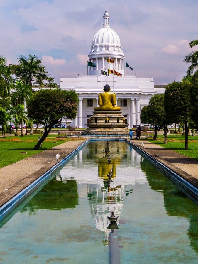 Ayuntamiento en Colombo, Sri Lanka fotos de archivo