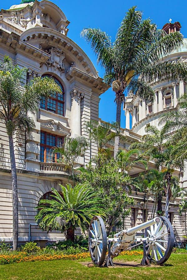 Ayuntamiento en Durban Suráfrica foto de archivo