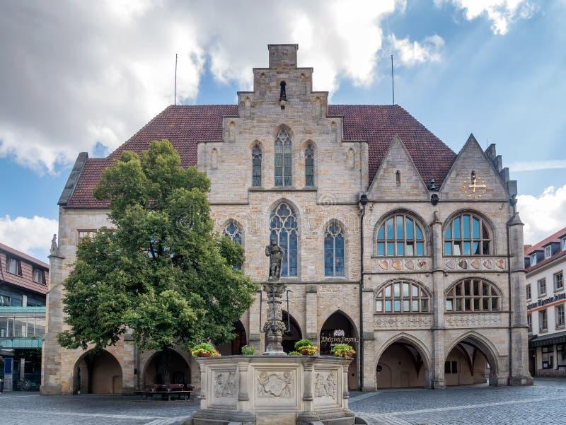 Ayuntamiento en Hildesheim, Alemania fotos de archivo