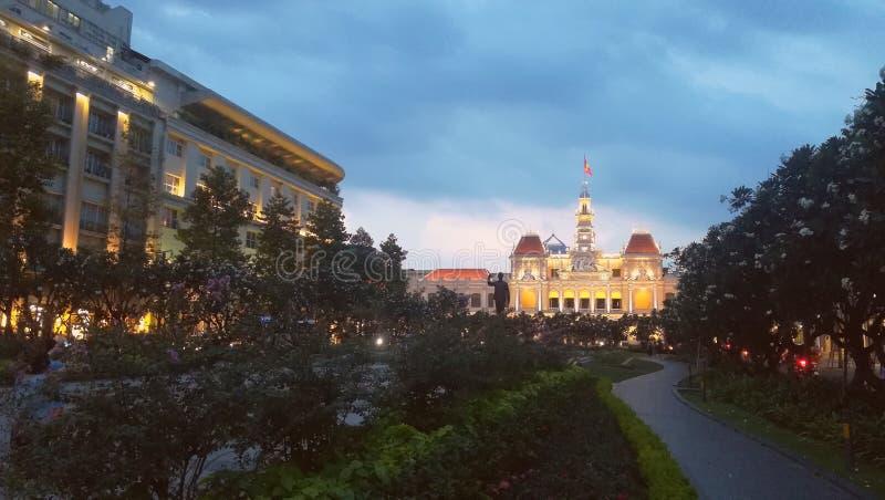 Ayuntamiento Ho Chi Minh στοκ εικόνες με δικαίωμα ελεύθερης χρήσης