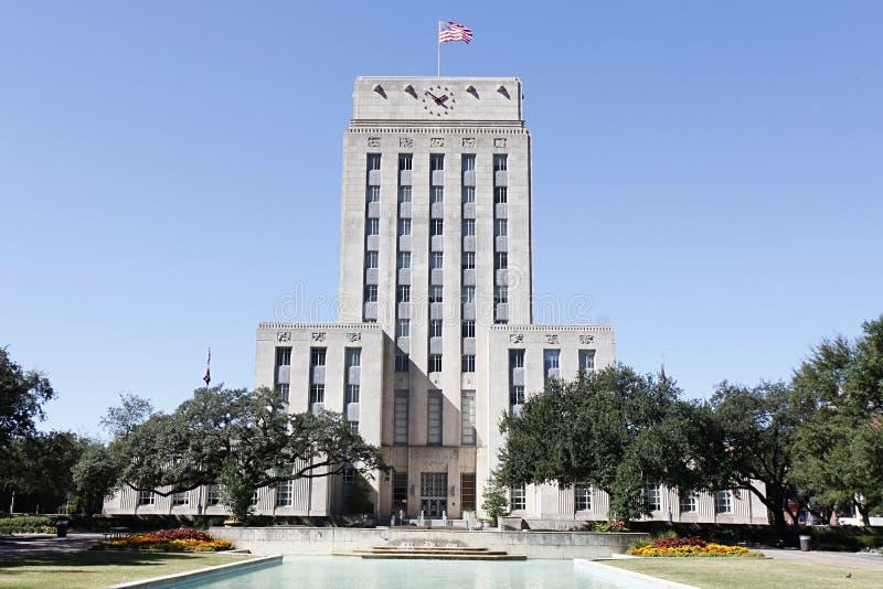 Ayuntamiento, Houston, Tejas fotografía de archivo libre de regalías