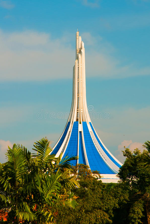 Ayuntamiento, Kuching, Borneo, Sarawak, Malasia imagen de archivo libre de regalías