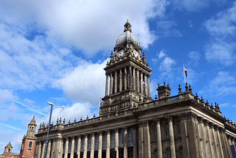 Ayuntamiento Leeds foto de archivo libre de regalías