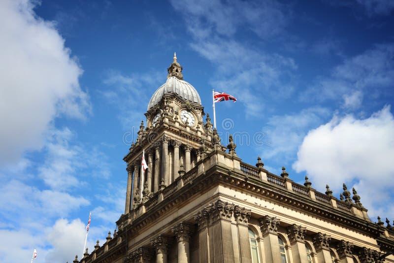 Ayuntamiento Leeds foto de archivo