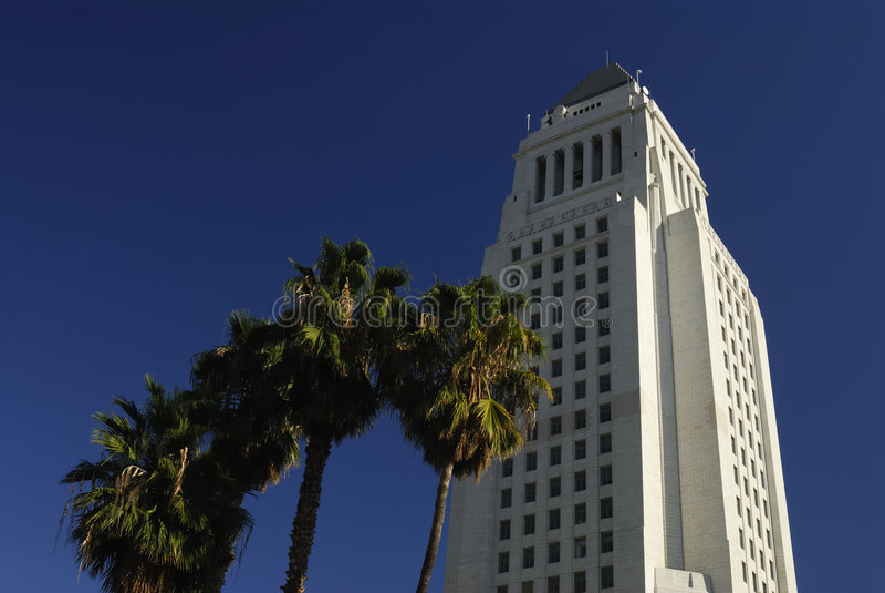 Ayuntamiento Los Ángeles imágenes de archivo libres de regalías