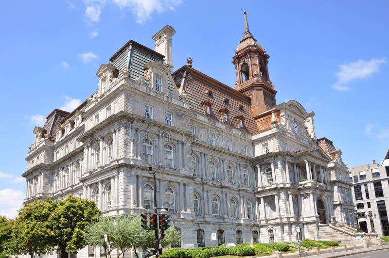 Ayuntamiento Montreal fotos de archivo