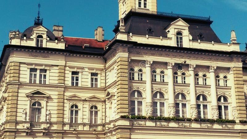 Ayuntamiento, Novi Sad imágenes de archivo libres de regalías