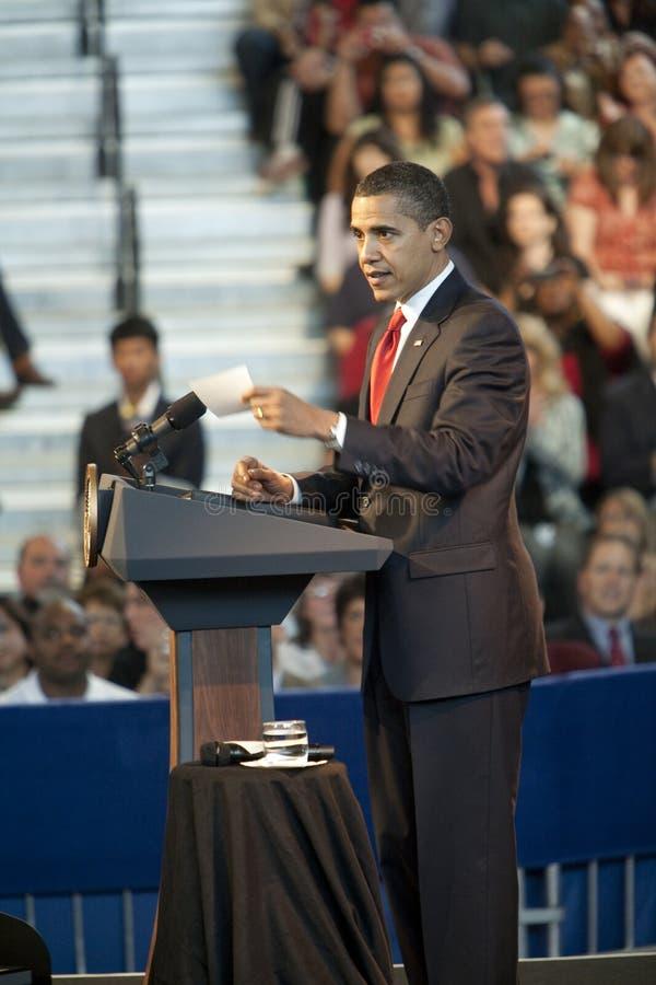 Ayuntamiento Obama fotos de archivo