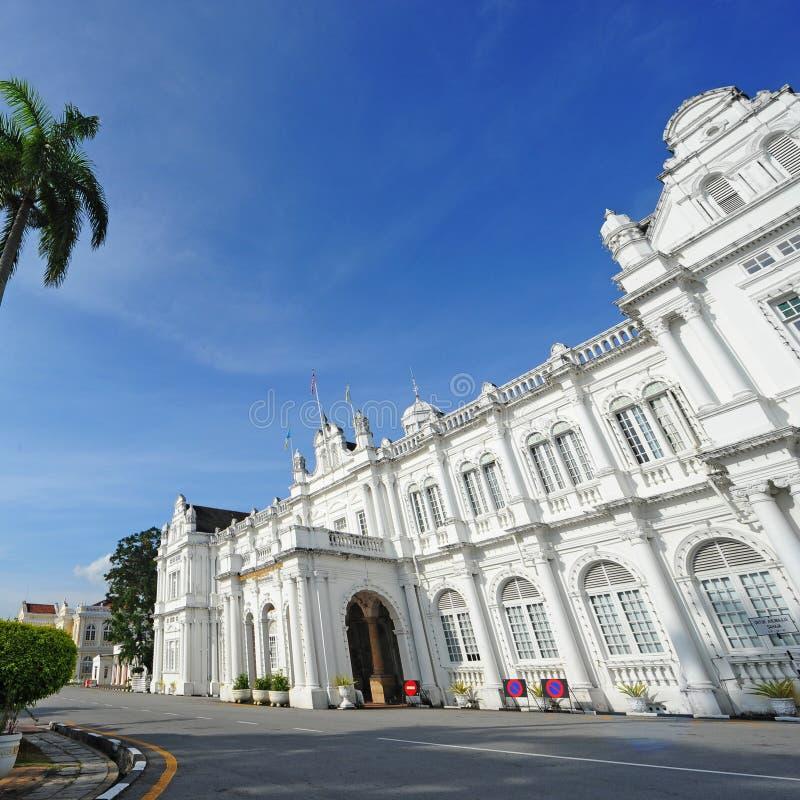 Ayuntamiento, Penang fotos de archivo