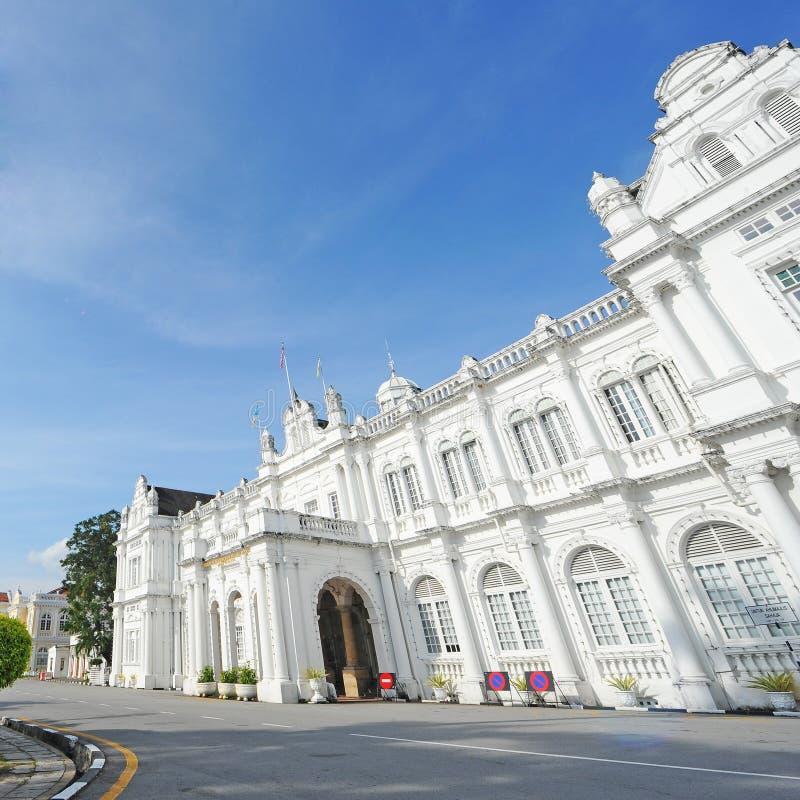 Ayuntamiento, Penang imagen de archivo