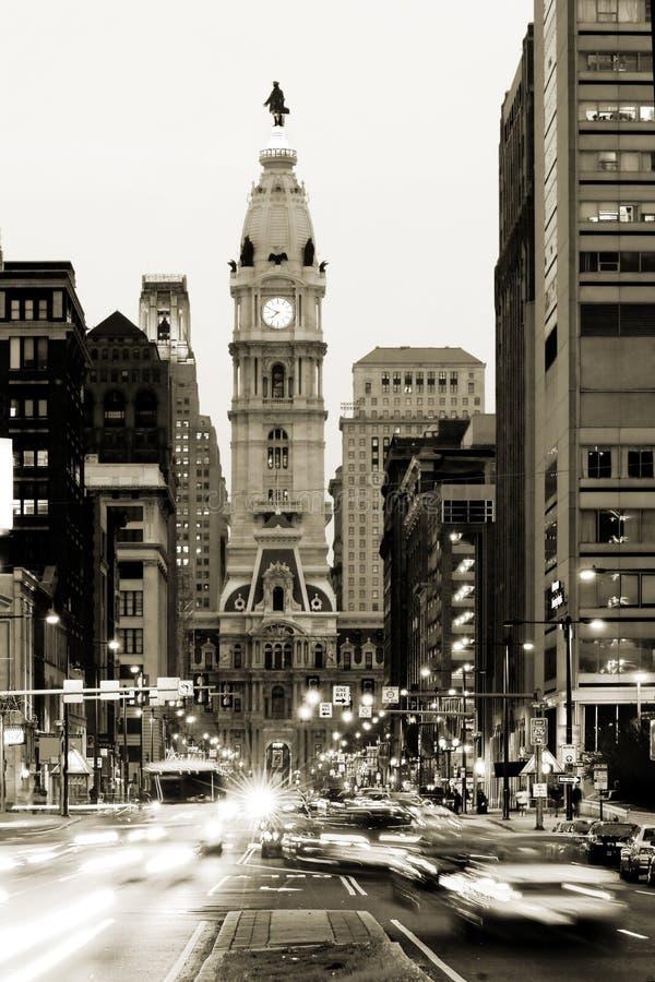Ayuntamiento Philadelphia fotografía de archivo libre de regalías