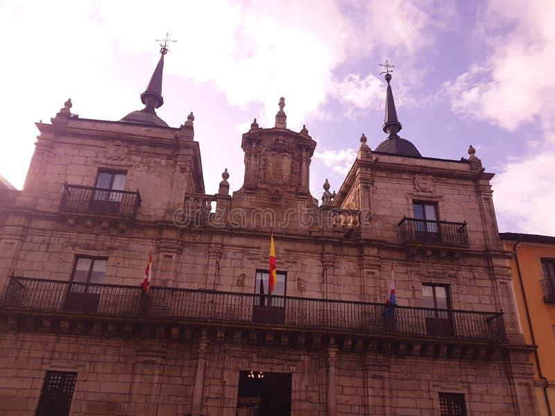 Ayuntamiento Ponferrada fotos de archivo